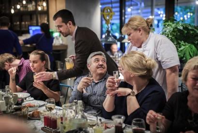 Ужин с одесским шеф-поваром Оксаной Перкиной